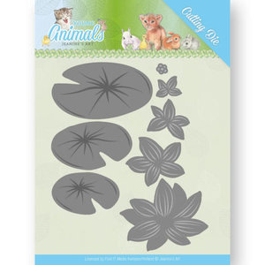 JAD10069 Dies - Jeanine's Art - Young Animals - Lily Pond Leaves