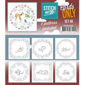 COSTDO10048 Cards only Stitch 48