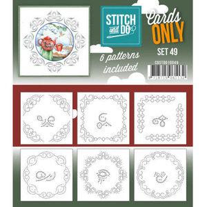 COSTDO10049 Cards only Stitch 49