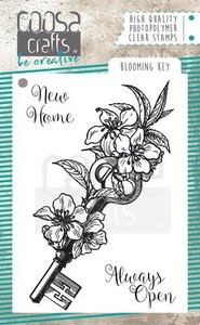 COOSA Crafts clearstamps A7 - Blooming key stamp COC-060