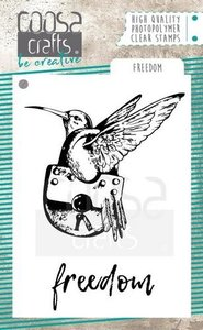 COOSA Crafts clearstamps A7 - Freedom COC-059