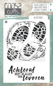 COOSA Crafts clearstamps A7 - Achteraf (NL) COC-056