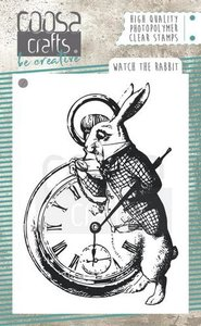 COOSA Crafts clearstamps A7 - Watch the Rabbit COC-054