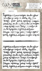COOSA Crafts clearstamps A6 - Fantasy Background COC-039