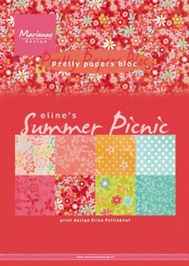 Marianne D Paperpad Eline's Summer picnic A5 PB7056