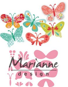 Marianne D Collectable Eline's vlinders COL1466 47x32mm