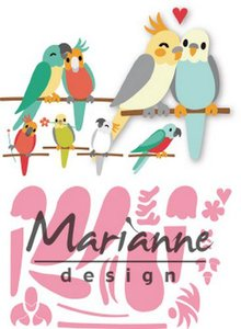 Marianne D Collectable Eline's vogels COL1465 75x28mm