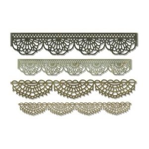 Sizzix Thinlits Die Set - 4PK Crochet 664178 Tim Holtz