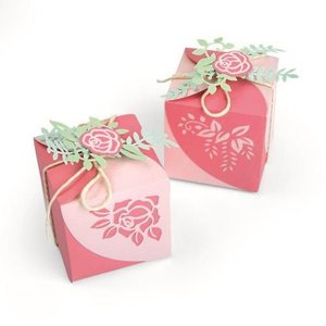 Sizzix Thinlits Die Set - 8PK Wrap Favor Box 663591 Lynda Kanase