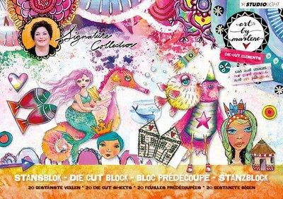 Studio Light Stansblok A5 20 vel Art By Marlene 3.0 nr.04 A5STANSBLOKBM04