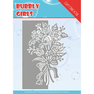YCD10168 Dies - Yvonne Creations - Bubbly girls- Bouquet ca. 8,6 x 12,8 cm