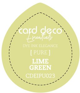 Card Deco Essentials Fade-Resistant Dye Ink Lime Green