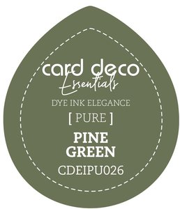 Card Deco Essentials Fade-Resistant Dye Ink Pine Green