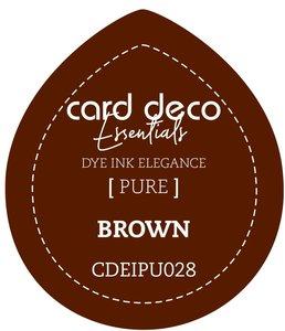 Card Deco Essentials Fade-Resistant Dye Ink Brown