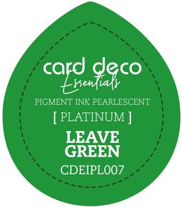 Card Deco Essentials Fast-Drying Pigment Ink Pearlescent Leave Green