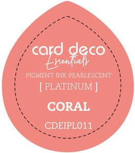 Card Deco Essentials Fast-Drying Pigment Ink Pearlescent Coral