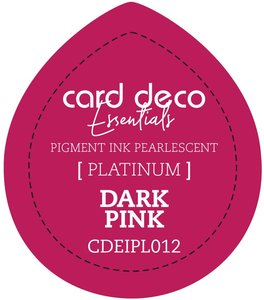 Card Deco Essentials Fast-Drying Pigment Ink Pearlescent Dark Pink