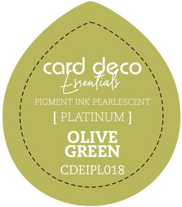 Card Deco Essentials Fast-Drying Pigment Ink Pearlescent Olive Green