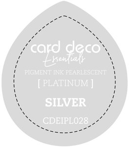 Card Deco Essentials Fast-Drying Pigment Ink Pearlescent Silver