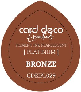 Card Deco Essentials Fast-Drying Pigment Ink Pearlescent Bronze