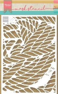 Marianne Design Stencil Tiny's touwen PS8031 149x149 mm
