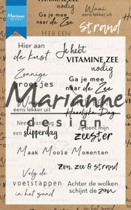Marianne Design Clear Stamps Strand (NL) CS1024