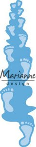 Marianne Design Creatable voetafdrukken LR0598 1 pc, 27x111,5 mm