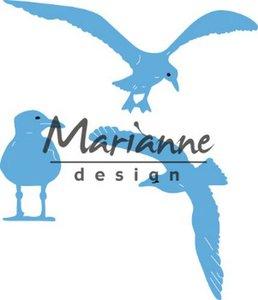 Marianne Design Creatable Tiny's zeemeeuwen LR0595 50.5x21, 75x50, 40.5x28 mm