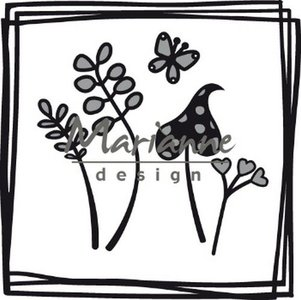 Marianne Design Craftable Doodle vierkant CR1469 87.5x87 mm