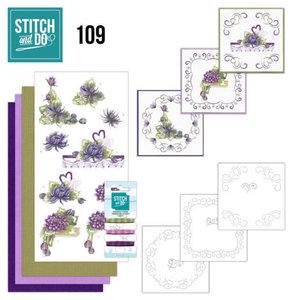 Stitch and Do 109 Summer Dahlia's
