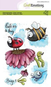 CraftEmotions clearstamps A6 - Bugs 1 Carla Creaties