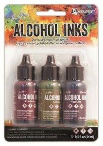 Ranger Alcohol Ink Kits  Farmer's Market 3x15 ml TIM19763 Tim Holtz 3x15ml