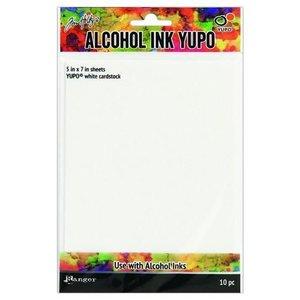 Ranger Alcohol Ink Yupo Paper White 10 vel TAC49715
