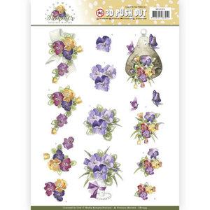 SB10355 3D Pushout - Precious Marieke - Blooming Summer - Summer Pansies