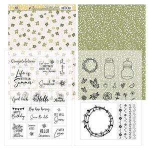 PMMC1001 Mica Sheets - Precious Marieke - Blooming Summer