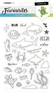 Studio Light Clearstempel A5 Favourites nr 383 STAMPSL383