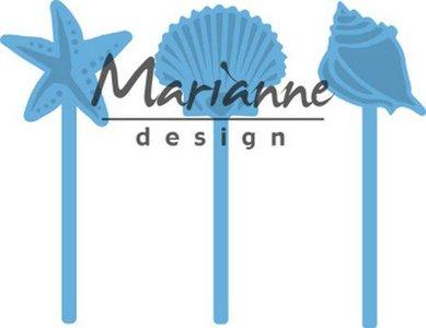 Marianne D Creatable zeeschelpen pins LR0602 68x28 mm