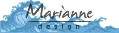 Marianne D Creatable golven LR0600 135x38 mm