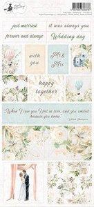 Piatek13 - Sticker sheet Truly Yours 02 P13-TRU-12 10,5x23 cm
