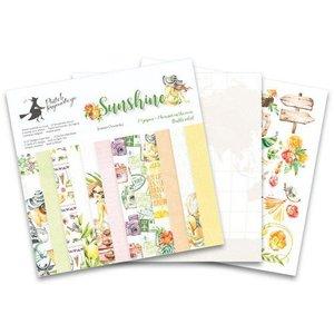 "Piatek13 - Paper pad Sunshine 6 Sunshine P13-SUN-09 6x6"""
