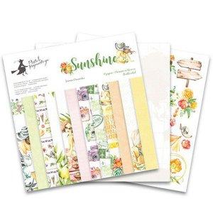 "Piatek13 - Paper pad Sunshine 12 Sunshine P13-SUN-08 12x12"""