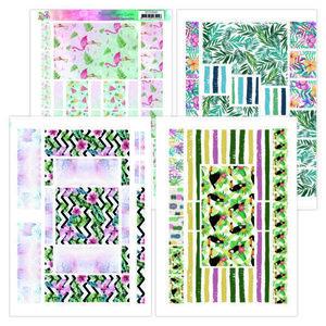 YCFC20002 Printed Figure Cards - Yvonne Creations - Happy Tropics