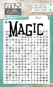 COOSA Crafts Clearstamps A7 - Magic COC-087