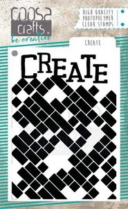 COOSA Crafts Clearstamps A7 - Create COC-086