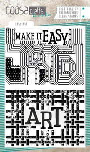 COOSA Crafts Clearstamps A6 - Easy Art COC-088