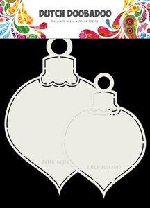 Dutch Doobadoo Card art 2x Kerstballen max13x19cm 470.713.721