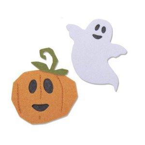 Sizzix Bigz Die - Happy Halloween 663463 Laura Kate (07-19)
