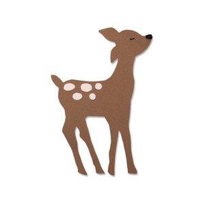 Sizzix Bigz Die - Retro Deer 663380 Olivia Rose (07-19)