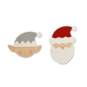 Sizzix Bigz Die - Santa & Elf 663378 Olivia Rose (07-19)