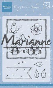 Marianne D Clear Stamps Marjoleine's anemones MZ1902 105x148mm